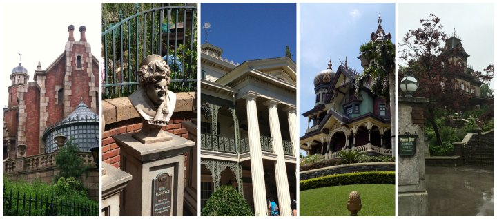 Every Haunted Mansion around the world - Tokyo, WDW, Disneyland, Hong Kong, and Paris
