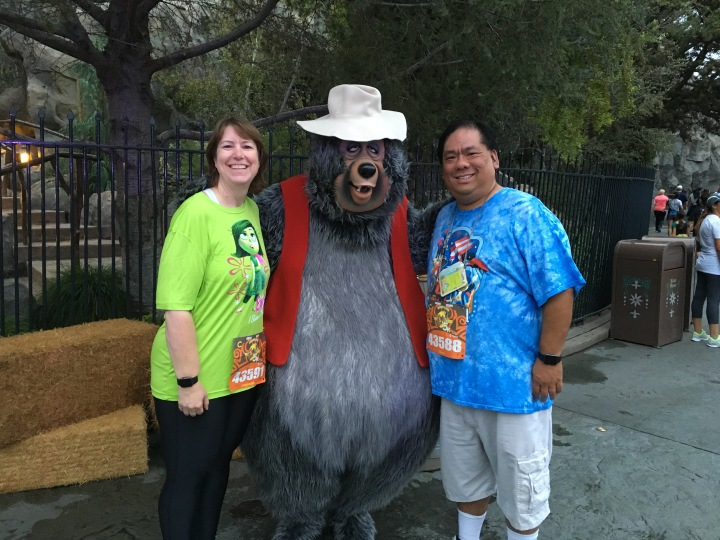 Cassie and I stop for a photo with Big Al!  So cool to see the Country Bears return even if only for a day