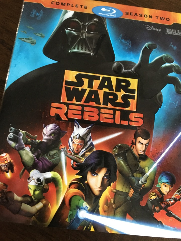Star Wars Rebels Season 2 out now on Blu-Ray and DVD