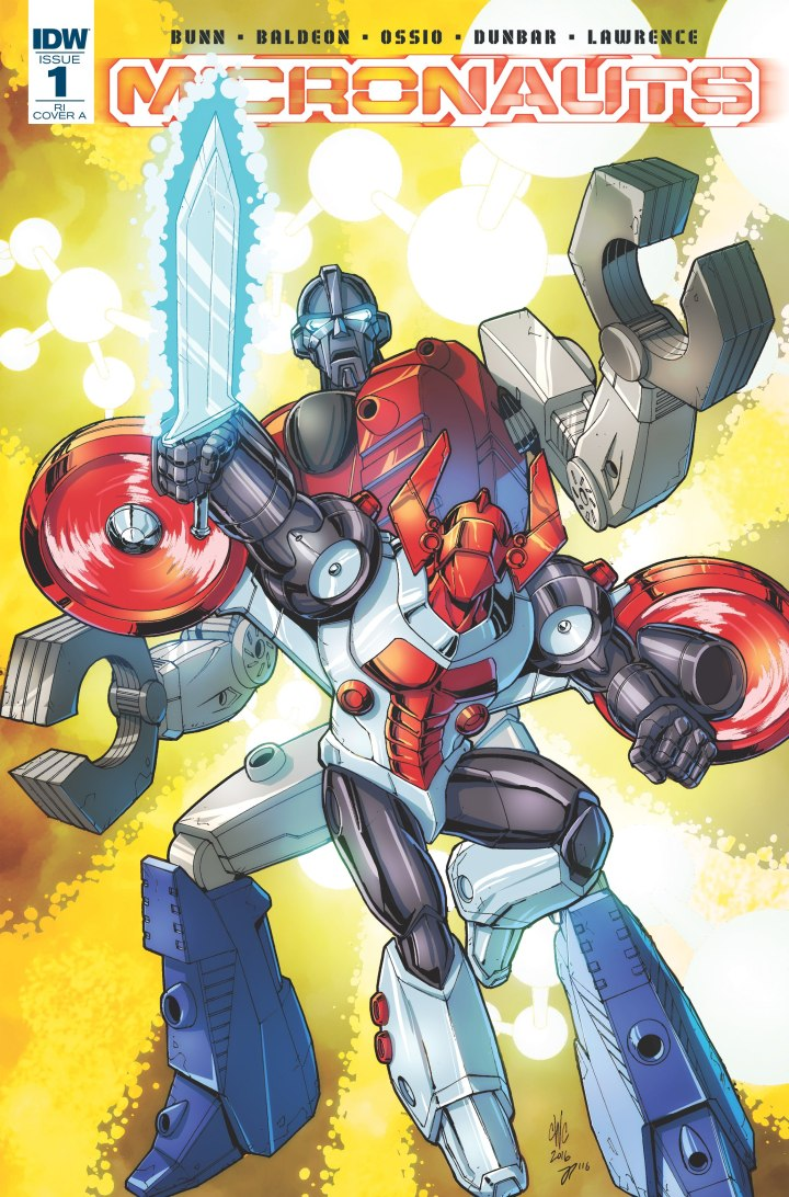 Micronauts now under the IDW banner and going in some creative directions