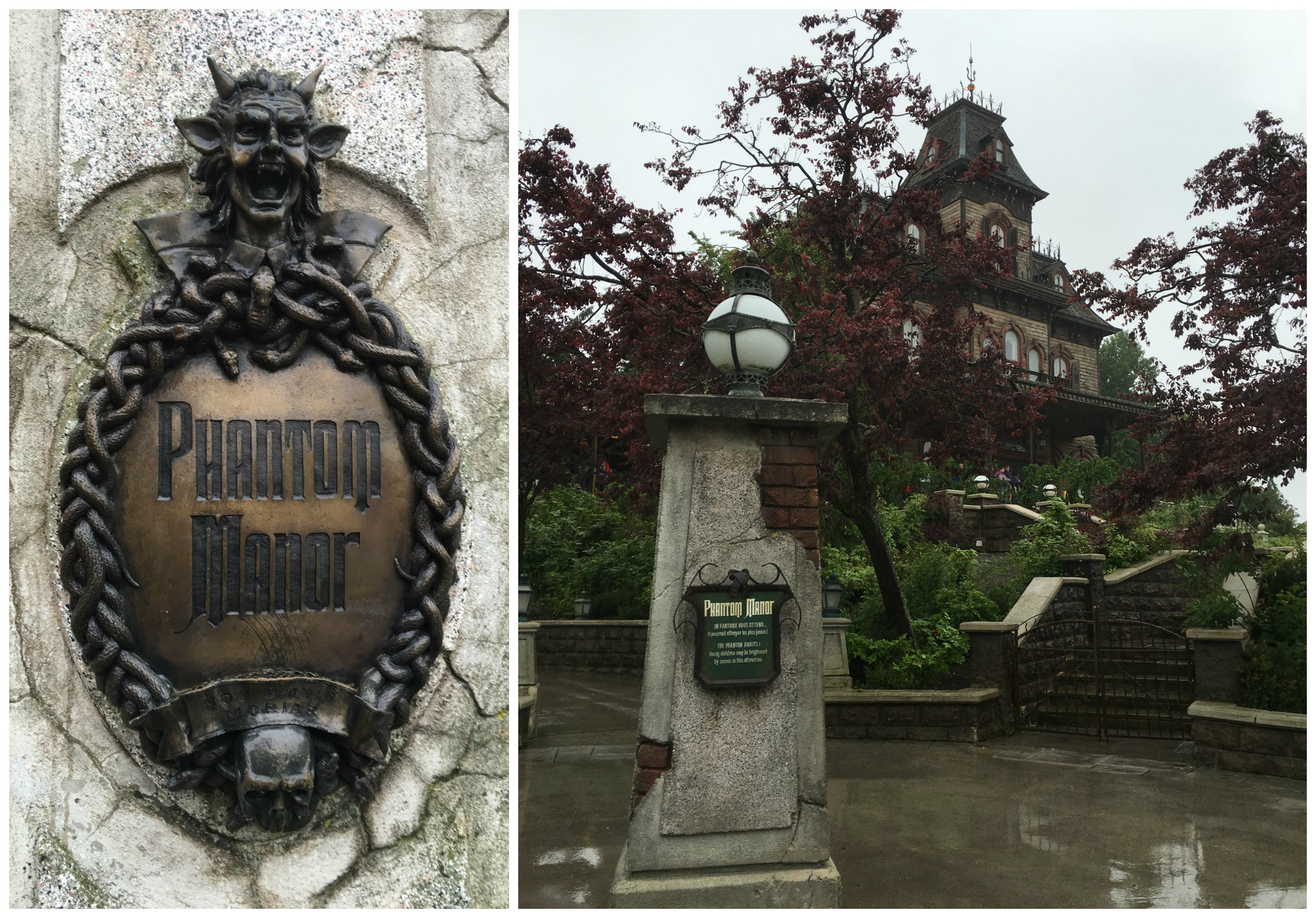 Phantom Manor - the only dilapidated Haunted Mansion in the world