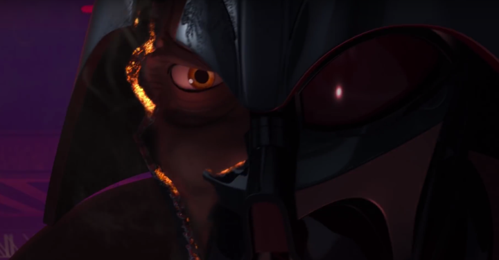 Only Ahsoka could take Vader to the edge of defeat