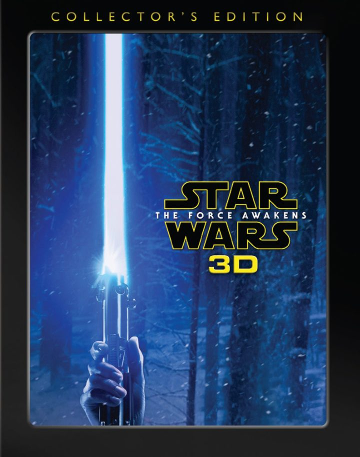 The cover art for Star Wars: The Force Awakens 3D