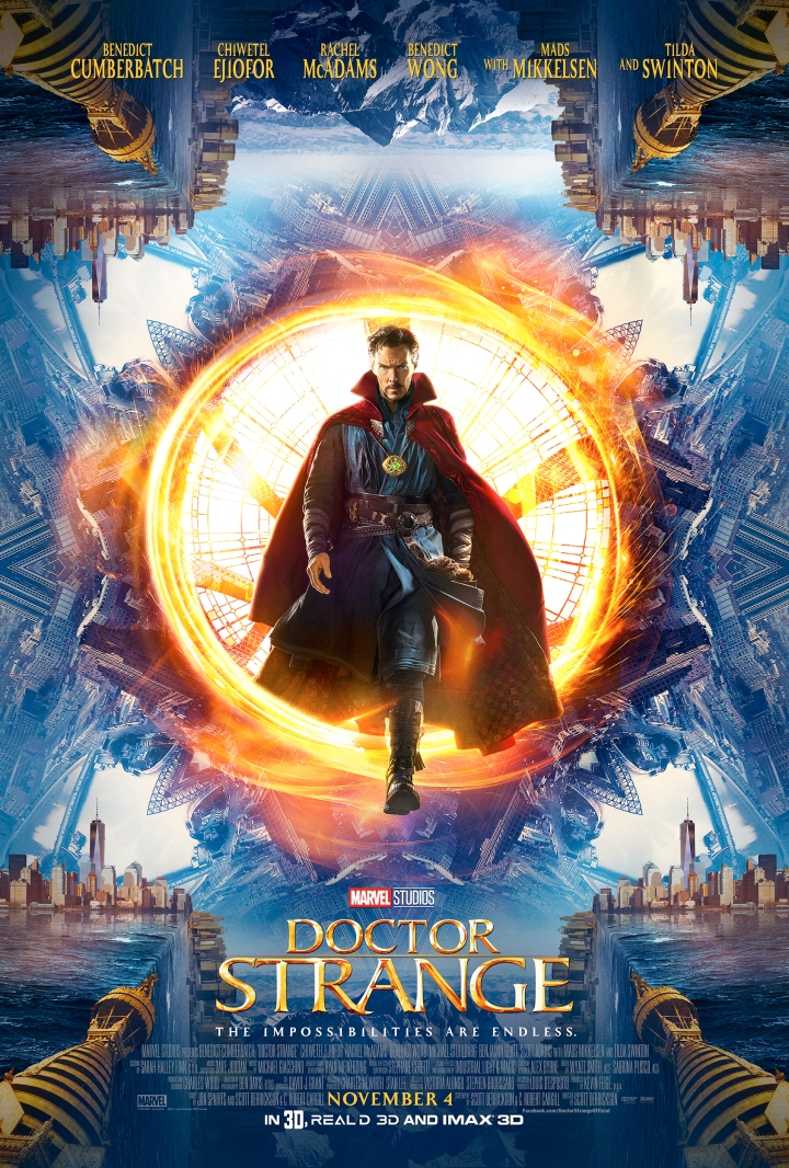 Doctor Strange opens in theaters nationwide today November 4th