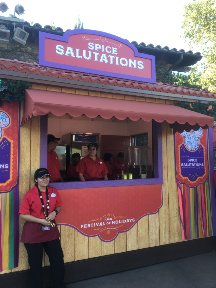 One of the many food stands scattered throughout Disney California Adventure