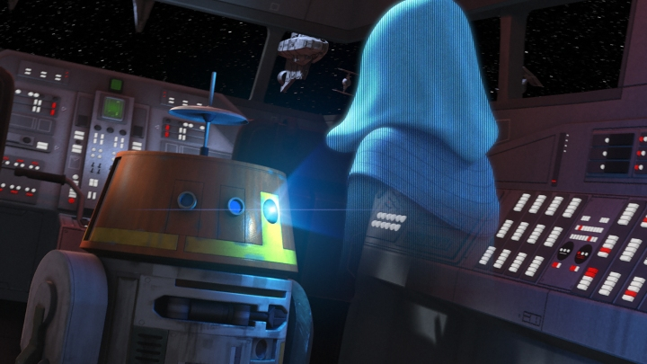 For most of season one in Star Wars Rebels, the identity of Fulcrum was a mystery