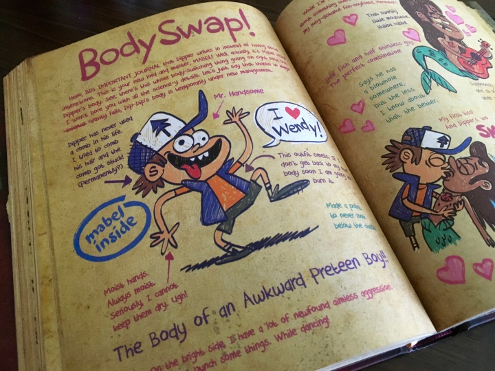 Journal 3 is filled with great details that add to the show and to the lore of Gravity Falls.