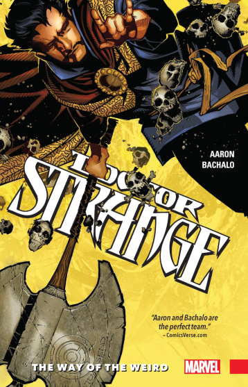 Aaron and Bachalo is one of the best fits for a book like Doctor Strange
