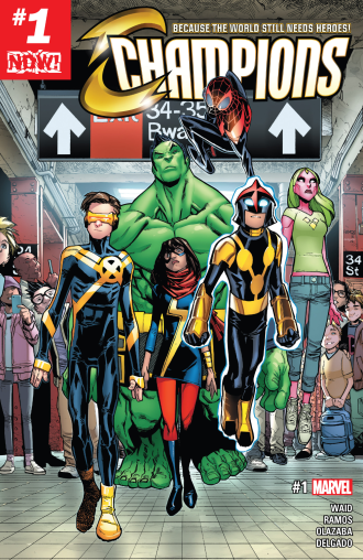 A modern superteam for a modern era - Champions has it all!