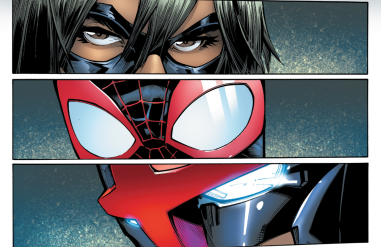Ms. Marvel, Spider-Man, and Nova form the core of the new Champions