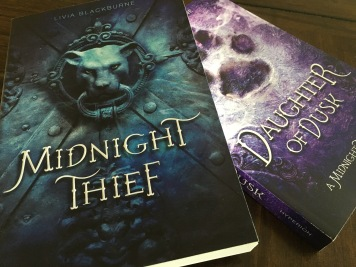 Livia Blackburne's Midnight Thief books are popular among young adults