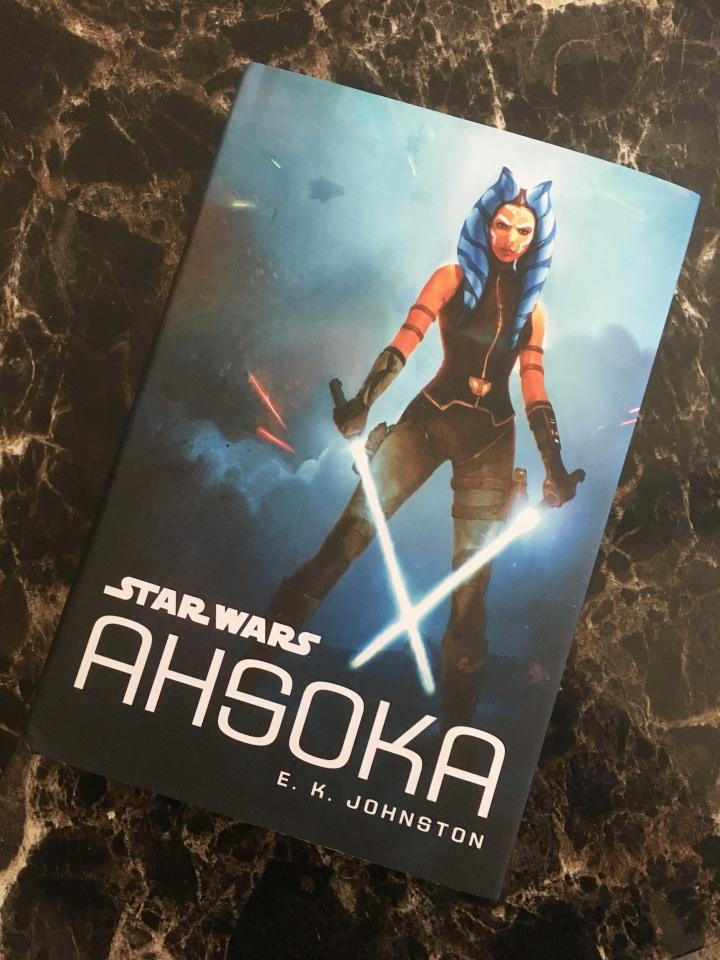 The cover of Ahsoka by E.K. Johnston