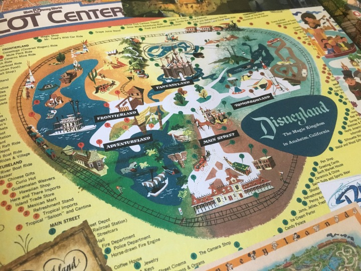 Maps of the Disney Parks is filled with colorful and intricate maps like this one illustrated here