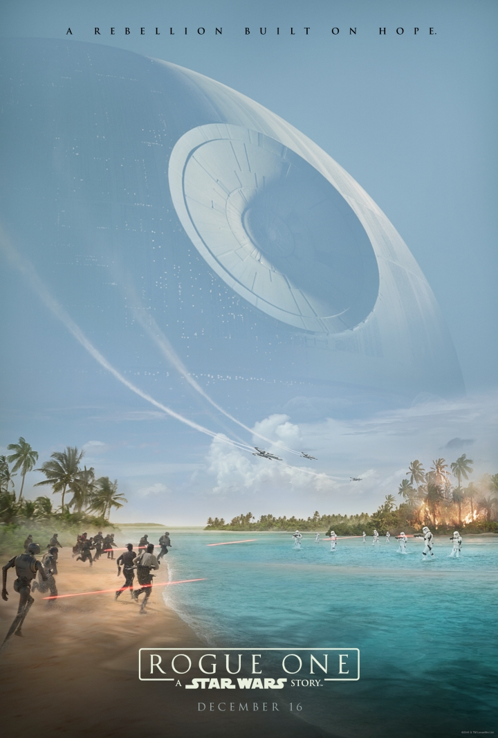 Teaser poster for the film Rogue One