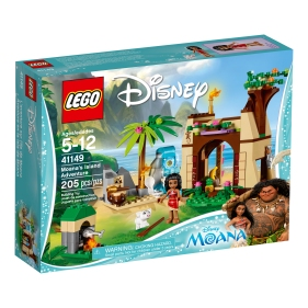 Moana's Island Adventure box art shows the beautiful colors and detail of this set