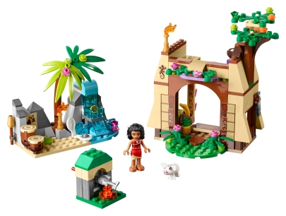 As constructed, Moana's Island Adventure