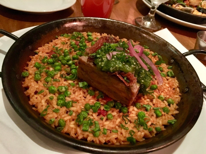 Definitely heavily influenced by Spanish cuisine but a nice variety of other dishes, too.
