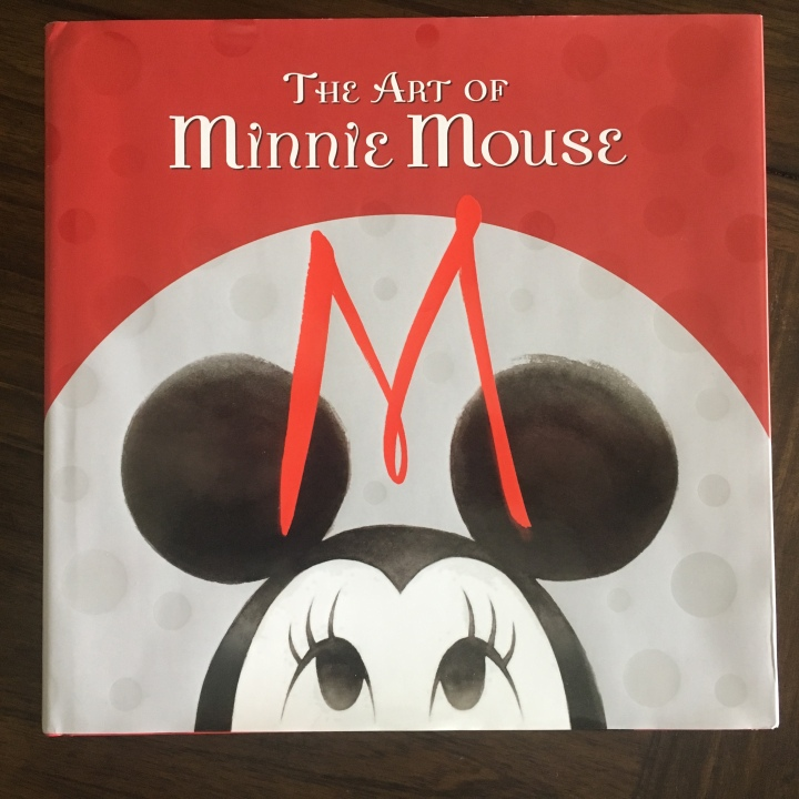 The cover of The Art of Minnie Mouse