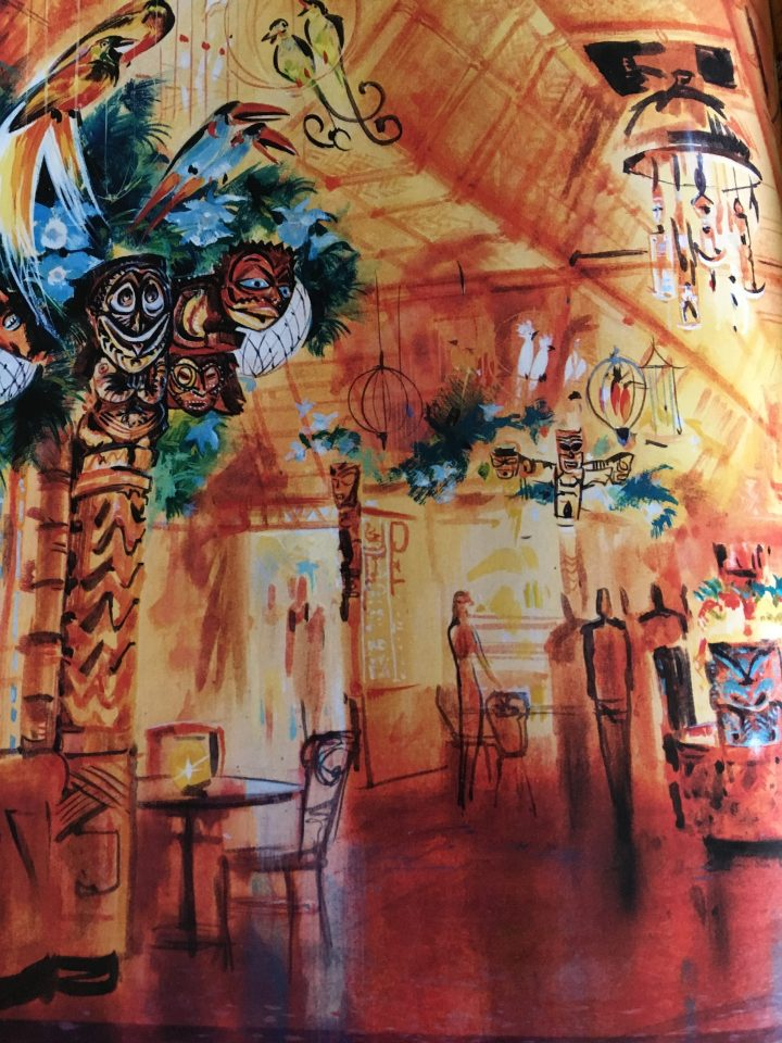 Initially the Enchanted Tiki Room was going to be an interactive dining experience until they discovered that the timing of it wouldn't work