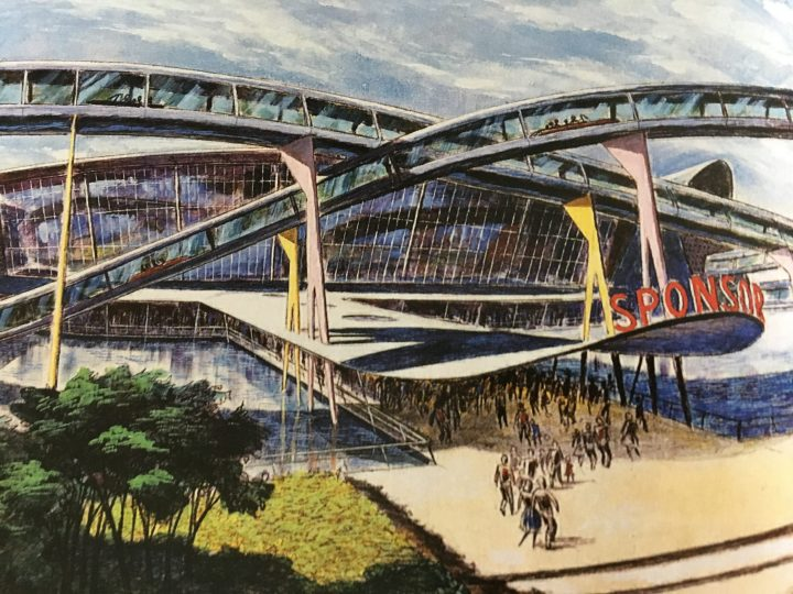 One of John's original design concepts for the World's Fair