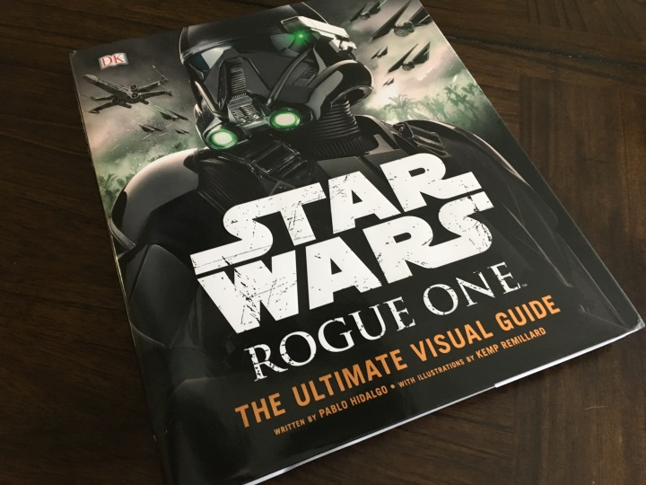The cover for Star Wars: Rogue One - The Ultimate Visual Guide