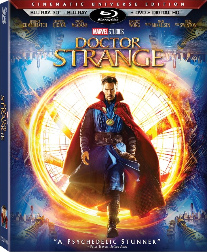 The BluRay cover for Doctor Strange coming out 2/28 and already released digitally