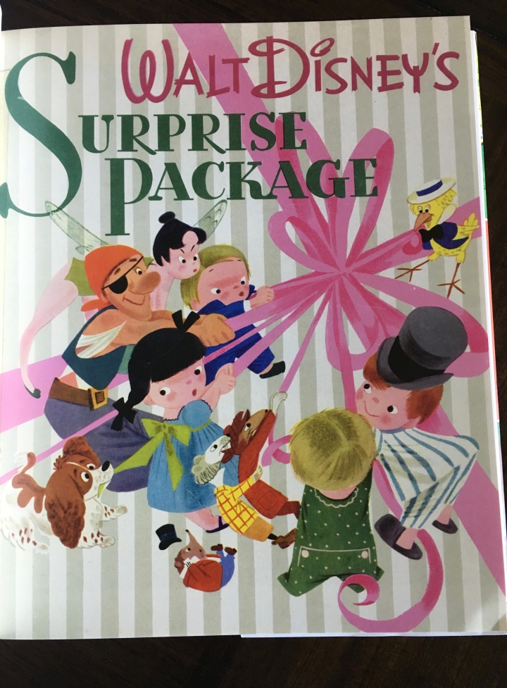 Mary Blair did the cover artwork for the first official Disney Golden Book - Walt Disney's Surprise Package featuring rare pre-production art including a Hans Christian Andersen film that was never made