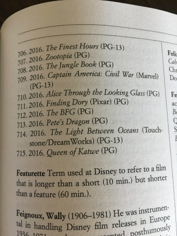 ...and nearly 9 pages later ends with Queen of Katwe at number 715