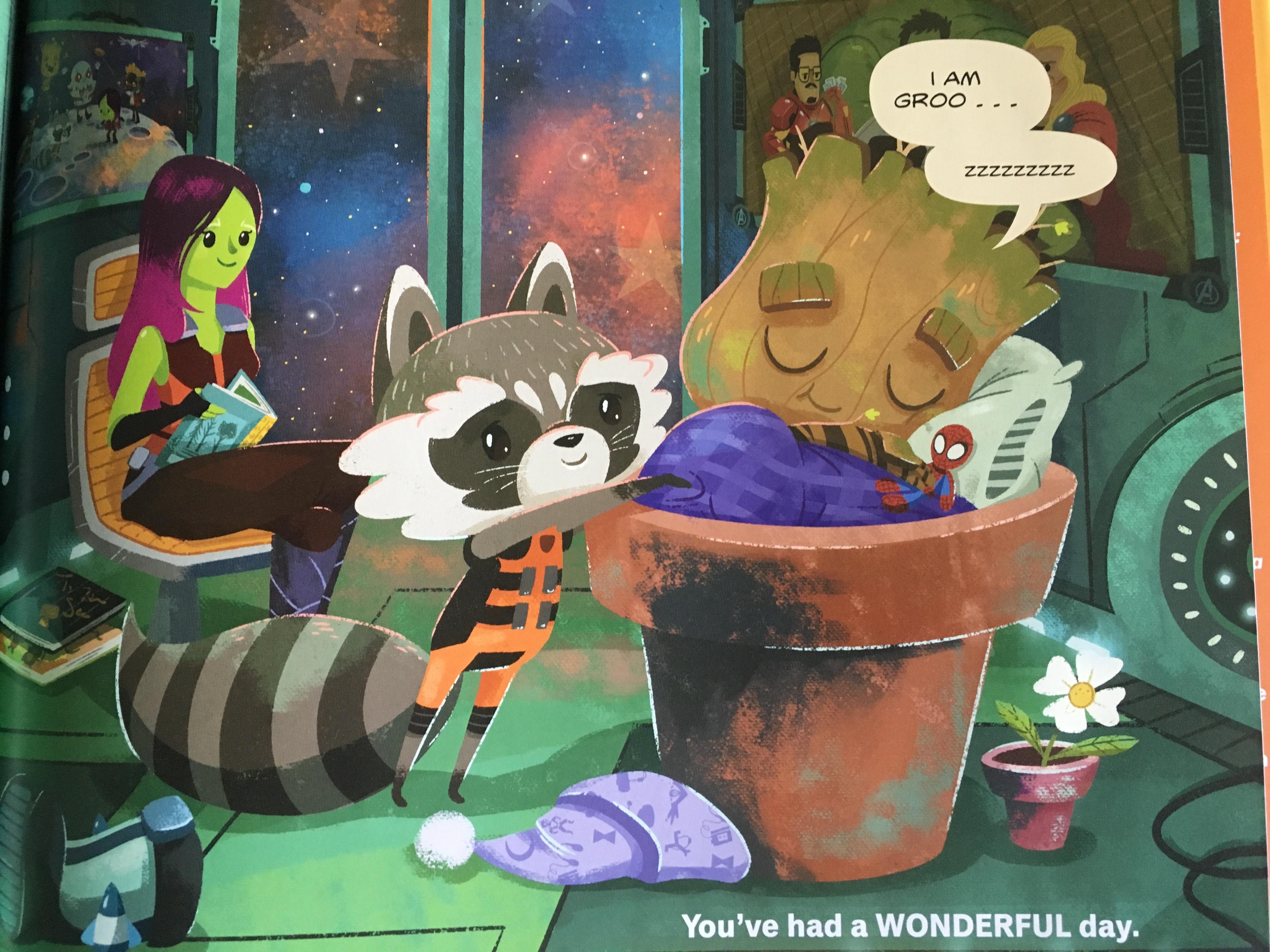 Goodnight Moon Has Nothing On Baby Groot Disney Nerds