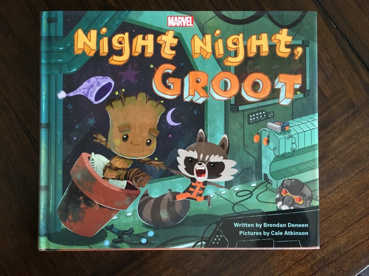 The cover of Night Night, Groot seems like a passive book about sleeping - but Groot isn't a superhero for nothing!