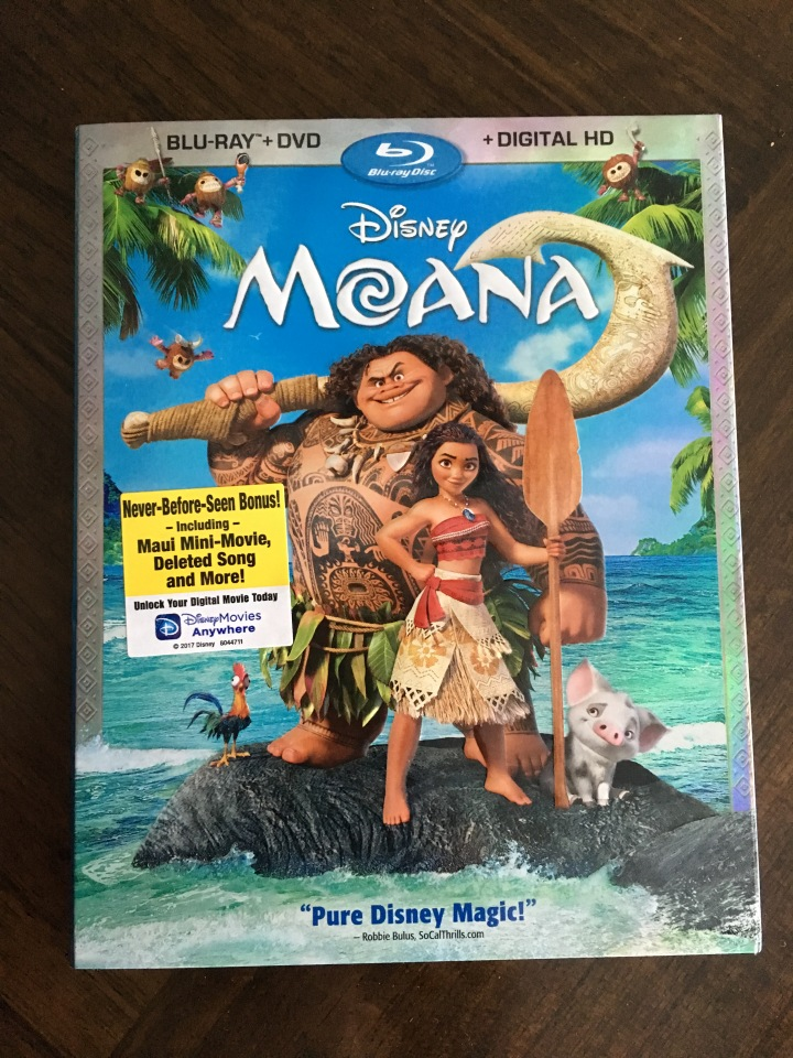 Disney's Moana is released on BluRay and DVD on 3/7 but you'll want to get the BluRay or Digital HD release (already out) for all the great bonus material