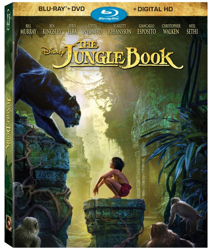 The BluRay cover for The Jungle Book