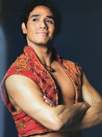 Great picture of Adam Jacobs as Aladdin
