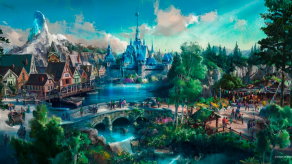 Arendelle as imagined for Hong Kong Disneyland