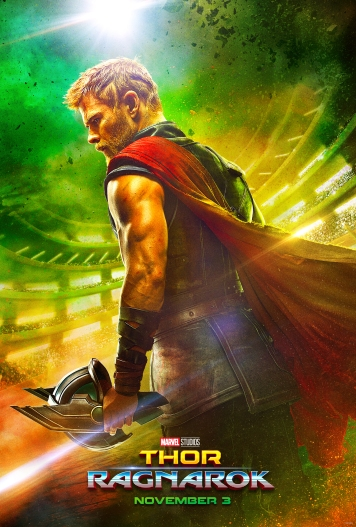 Teaser poster for the upcoming Thor: Ragnarok