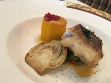 Roasted red snapper with potato - all gluten-free