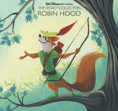 The Legacy Collection: Robin Hood featuring Lorelay Bove art