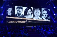 Alan Horn comes out to lend support for Ron Howard and the still untitled Han Solo film - but little else is said (Disney/Image Group LA)