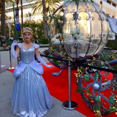 The lovely Holland Tayloe Gedney as Cinderella. How fortunate her carriage was awaiting her right outside the convention center. You can follow her on Instagram and Facebook by searching for her name
