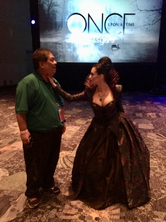 No one else I'd rather get the life choked out of me by other than the Evil Queen! Reini Side does an amazing cosplay of her. Seriously wicked.