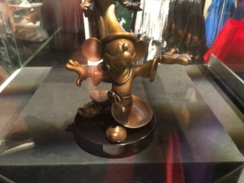 Bronze Sorcerer Mickey, a replica of the one at WDI - only 25 were made