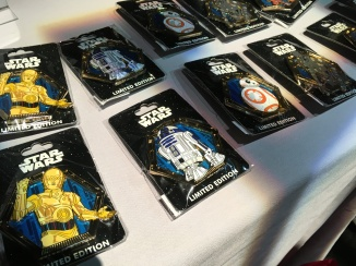 Some of the Star Wars pins from MOG