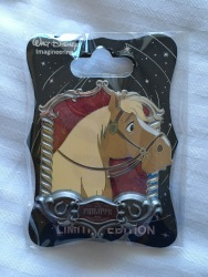 Loved this Philippe pin. Hard to notice but it is so detailed. Look at the roses in the background.