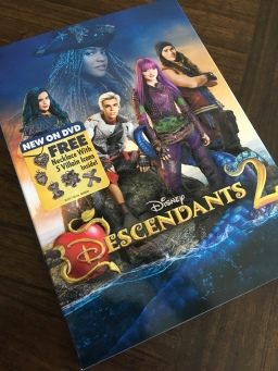 Case cover for Descendants 2 being released on 8/15/2017