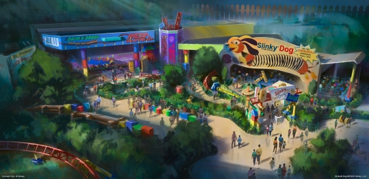 Bob Chapek announces the summer 2018 opening of Toy Story Land at Disney's Hollywood Studios at Walt Disney World Resort.
