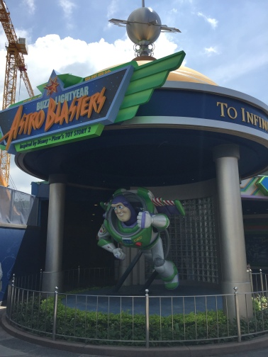 Hong Kong Disneyland just closed their Astro Blasters ride to make way for an Ant-Man attraction similar to the Buzz Lightyear one it's replacing