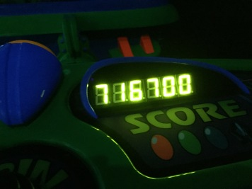 Scored pretty high at Hong Kong Disneyland