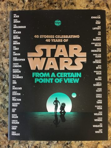 Amazing stories spanning the entire film, 40 authors write 40 stories about the people of Star Wars: A New Hope