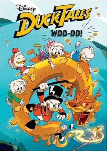 The cover for the new DVD which includes the first episode and 6 bonus shorts