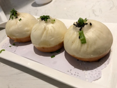 The very best food I ate - a completely different kind of xiao long bao at Crystal Jade